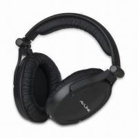 Quality UHF 863.3MHz Wireless Headphones, 75dB S/N Ratio, FM Modulation, 30 to 20,000Hz Frequency Response wholesale