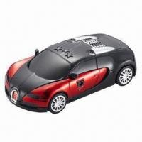 Quality Car-shaped Radar Detector with Beep/English Voice/Russian Voice, VCO Technology wholesale