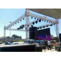 China Shape Customized Aluminum Stage Truss Sliver Exhibition Truss System For Events on sale