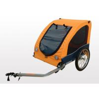 Quality Rollback sunroof, hard bottom with D-ring Bicycle Pet / Dog Trailer wholesale
