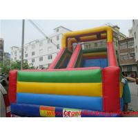 Quality Commercial inflatable slide for kids , giant slide inflatable bouncers for sale wholesale
