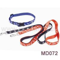 Quality 5/8 Wide 6 Foot Long Reflective Collar and Leash wholesale