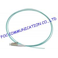 Quality 1M OM3 10G Fiber Optic Pigtail 0.9mm 1.6mm 2.0mm 2.4mm 3.0mm Easy Operation wholesale