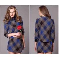 Quality B-urberry plaid coat, two-piece style,womens designer fashion high grade trend winter coat wholesale