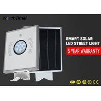 China High Brightness All - In - One LED Solar Street Lights / Solar Powered Street Lamp on sale