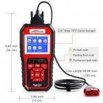 Quality Obd II Cars Live Data Scanner Diagnostic Tool Konnwei Kw850 Bosch FOXWELL Autophix JDiag wholesale