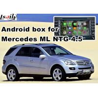 Quality Android os car navigation box video interface for Mercedes benz ML mirrorlink web video music play wholesale