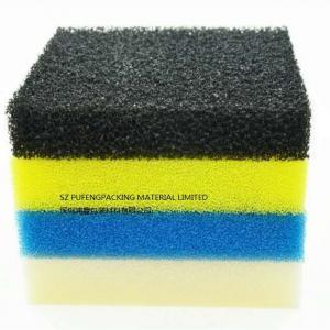 Quality Environmental Water Treatment Sponge Foam Filter , Black Blue Aquarium Filter Foam wholesale