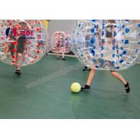 Cheap Indoor Sport Game Hamster Ball For Kids , Inflatable Soccer Bubble Ball for sale