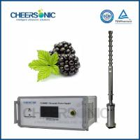 Quality IUIP3000 Efficient Ultrasonic Extraction Equipment for Procyanidins wholesale