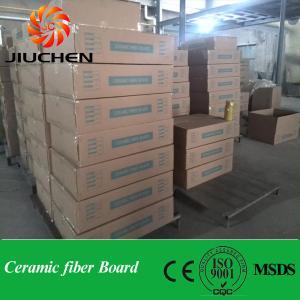 China Fireproof insulation STD ceramic fiber board on sale