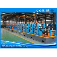 Quality Low Alloy Steel Steel Pipe Production Line Rectangular Shape Customized Design wholesale