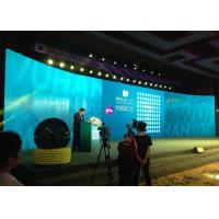 Quality Protable P12 Curved LED Display Panel , Flexible LED Curtain Display wholesale