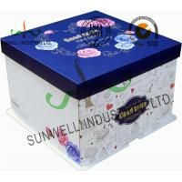Quality Corrugated Cardboard Food Packaging Boxes , Cardboard Takeaway Food Boxes wholesale