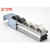 Quality White Grey Plastic Roller Track 2 Metes Length With Carbon Steel Frame wholesale