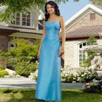 Cheap Bridesmaid Dress/Strapless A-line Gown with Sweetheart Neckliine, Made of for sale