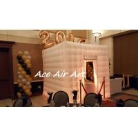 Quality wonderful cube kiosk inflatable photo booth tent for events birthday and party wholesale