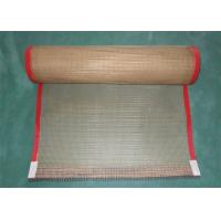 Quality Leno Weaving Coated Fiberglass Mesh Conveyor Belt Fabric High Temperature Resistant wholesale