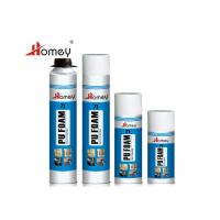 Quality Easy Using Polyurethane Foam Sealant , Spray PU Foam For Prevention And Installation wholesale