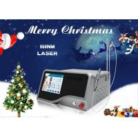 Quality Spa Clinic 20W 980 nm Diode Laser Machine For Spider Vein / Cherry Angiomas Removal wholesale