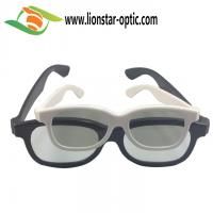 Quality plastic circular polarized 3d glasses China factory bulk wholesale