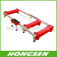 China HS-Q01 Colorful and foldable home fitness bicycle roller trainers on sale