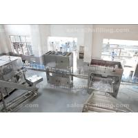 Quality Automatic Mineral Water Filling Machine , 3 - 5 Gallon Barrel Water Rinsing Capping Machine wholesale