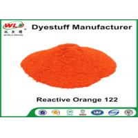 Quality Fabric Reactive Dyes Reactive Orange Wre C I Orange 122 Pad Dyeing Series wholesale