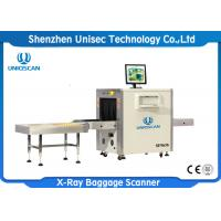 Quality High Penetration 38mm SF5636 24 Bit X Ray Baggage Scanner CE / ISO wholesale