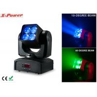 Quality 4PCS*12W RGBW Zoom Wash Beam Moving Head Light High Brightness  X-88A wholesale