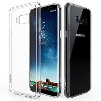 Quality Scratch Resistant Flexible TPU Gel Rubber Soft Silicone Samsung Galaxy S8 Cover wholesale