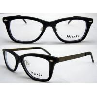 Cheap Optical Reading Acetate Fashion Eyeglasses Frames , Full Rim Eyeglass for sale