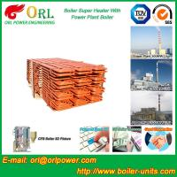Quality Boiler Steam Superheaters Steel , Separately Fired Superheater Once Through wholesale