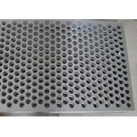 Quality Custom Size Perforated Metal Mesh 40% - 81% Filter 304 /316 Stainless Steel wholesale