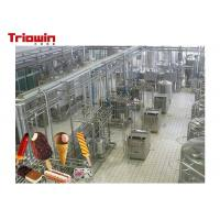 Quality High Power Dairy Processing Line Soft Ice Cream Manufacturing Equipment wholesale