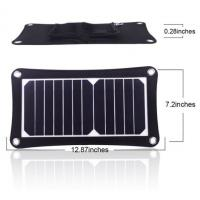 Quality Mini Flexible Solar Power Battery Charger 12V Compacted Novel Size wholesale