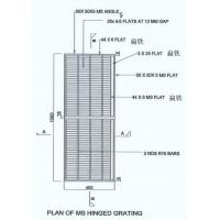 Quality Precision Stainless Steel Walkway Gratings Flat Steel Space 10 Mm Or 11 Mm And 12mm wholesale