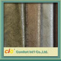Quality Multi Color High Abrasion PVC Artificial Leather Fabric  0.5 - 2mm Fake Leather Material wholesale