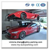 China Single Post Parking Lift Hydraulic Pump Cylinder Ramps for Cars on sale