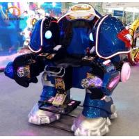 Quality Electric Carnival Bumper Cars Walking Robot Shape 150 Kg Load Weight wholesale