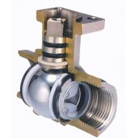 China Floating Two Piece Ball Valve DIN / BS / ANS I/ JIS / API / ASME For Oil And Gas on sale