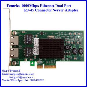 Quality RJ-45 Copper Cable Gigabit Controller Server Ethernet Network Card  Femrice 10002PT wholesale