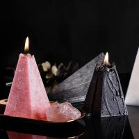 Quality Home Decoration Cone Shape Scented Soy Wax Candle With Luxury Candle Packaging Box wholesale