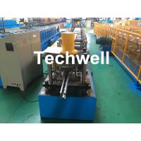 Quality Guide Rail Roll Forming Machine For Making Elevator , Doorframe , Window Frame As Well As Other Sliding System Devices wholesale