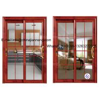 Quality Aluminum Glass Sliding Door With 60 Series Aluminum Frame And Frosted wholesale