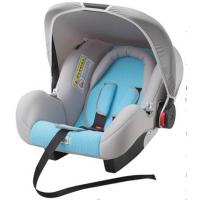 Quality Gray And Blue Child Safety Car Seats With Side - Impact Protection System wholesale