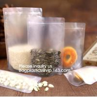 China Biodegradable Eco Environmentally friendly Customized Standing Up Pouch aluminum foil vacuum empty tea bag for snack on sale