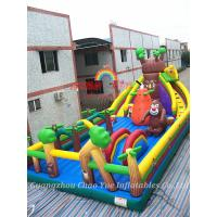 Quality New Inflatable Bouncy Fun City and Inflatable Bouncy Jumping Castle for Amusement Park wholesale