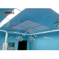 Laboratory Modular Clean Room Glass Wall Plate Easy To Clean For Doctors And