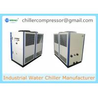 Quality 20HP Seawater Cooling Air Cooled Water Chiller Unit Best Price wholesale